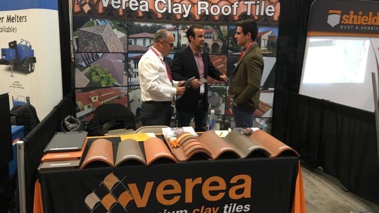 Verea participa por octavo año consecutivo en la International Roofing Expo