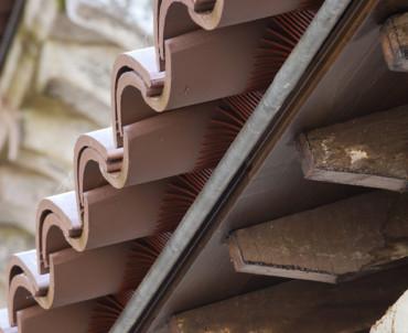 ¿Cuántas tejas curvas entran en un metro cuadrado?