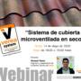"""Webinar """"Verea System: sistema de cuberta microventilada en seco"""""""