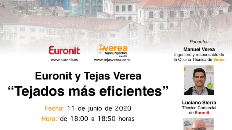 """Webinar """"Euronit y Tejas Verea: Tejados más eficientes"""""""