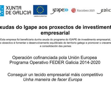 Ayuda del IGAPE a los proyectos de inversión empresarial